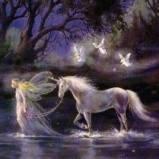 Единорог и фея