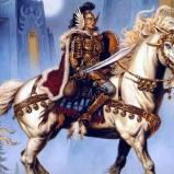 Единорог с рыцарем