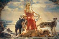 Цирцея – греческая колдунья с острова Эя