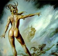 Лилит - мать всех демонов и ведьм